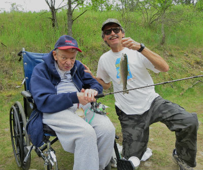 Veterans Fishing Day 2015